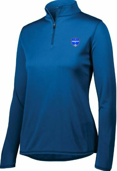 Ladies Commonwealth SC Attain Wicking 1/4 Zip Pullover (CSC)