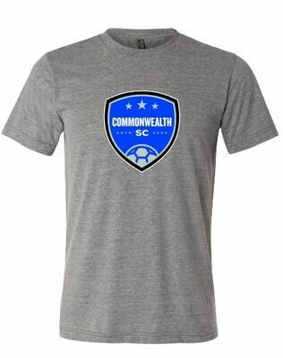 Mens Commonwealth SC Front Chest Design Sport-Tek® Heather Contender™ Tee(CSC)
