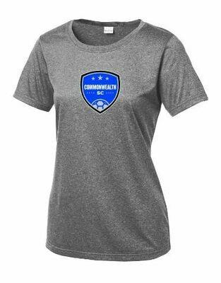 Ladies Commonwealth SC Front Chest Design Sport-Tek® Heather Contender™ Tee(CSC)