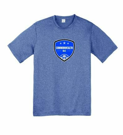 Youth Commonwealth SC Front Chest Design Sport-Tek® Heather Contender™ Tee(CSC)