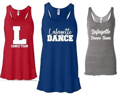 LHS Dance Team Practice Apparel