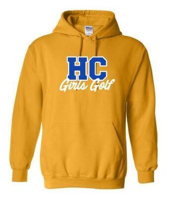 HC Girls Golf Hooded Sweatshirt (HCGG)