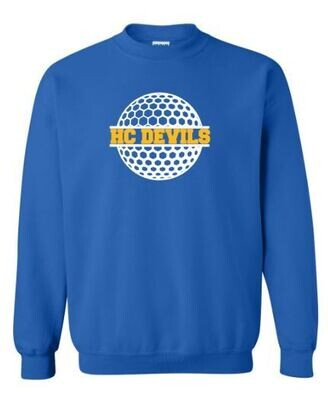 HC Devils Golf Crewneck Sweatshirt (HCGG)
