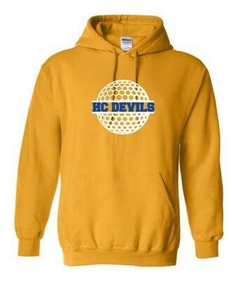 HC Devils Golf Hooded Sweatshirt (HCGG)