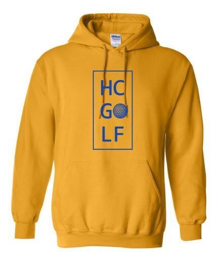 HC Golf Stacked Hooded Sweatshirt (HCGG)