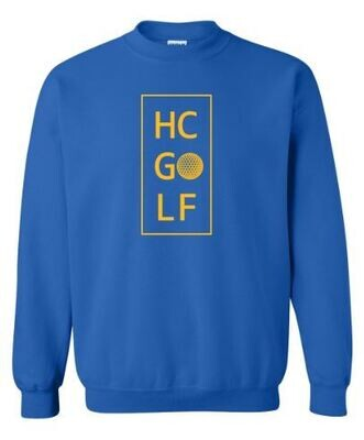 HC Golf Stacked Crewneck Sweatshirt (HCGG)