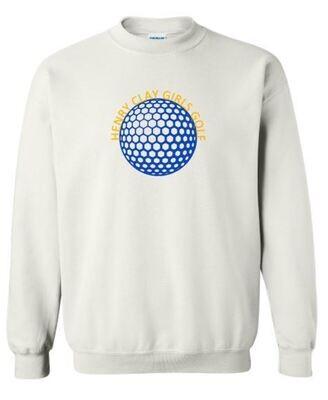 Henry Clay Girls Golf Crewneck Sweatshirt (HCGG)