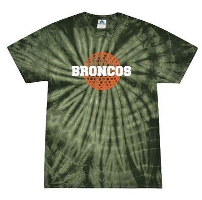 Broncos Golf Forest Tie-Dye Short Sleeve Tee (FDG)