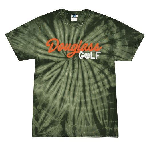 Douglass Golf Forest Tie-Dye Short Sleeve Tee (FDG)