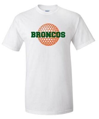 Broncos Golf Short OR Long Sleeve Tee (FDG)