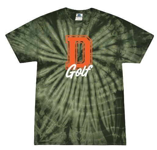 D Golf Forest Tie-Dye Short Sleeve Tee (FDG)