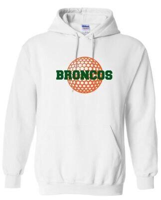 Broncos Golf Hooded Sweatshirt (FDG)
