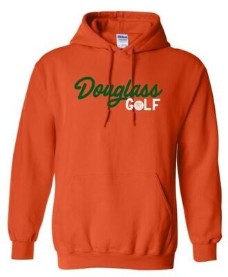 Douglass Golf Hooded Sweatshirt (FDG)