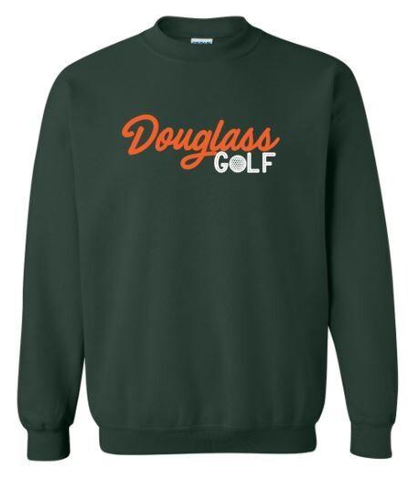 Douglass Golf Crewneck Sweatshirt (FDG)