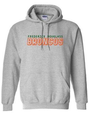 Frederick Douglass Broncos Hooded Sweatshirt (FDG)