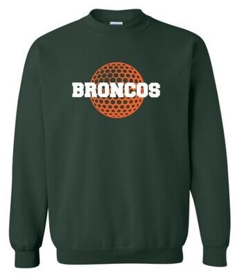 Broncos Golf Crewneck Sweatshirt (FDG)