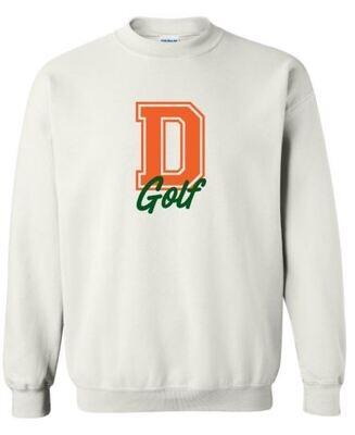 D Golf Crewneck Sweatshirt (FDG)