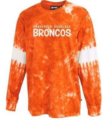 Frederick Douglass Broncos Tie-Dye Jersey (FDG)