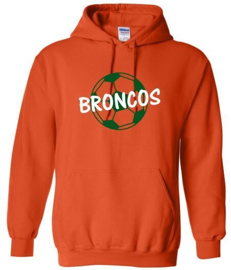 Broncos Soccer Hooded Sweatshirt (FDGS)