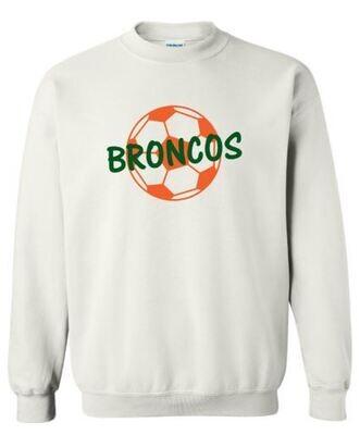 Broncos Soccer Crewneck Sweatshirt (FDGS)