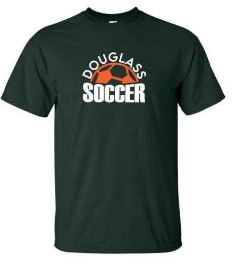 Douglass Soccer Short OR Long Sleeve Tee (FDGS)