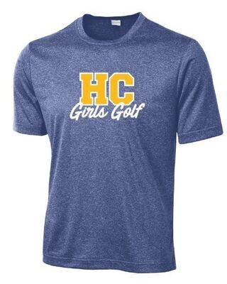HC Girls Golf Sport-Tek Dri Fit Short Sleeve Tee (HCGG)