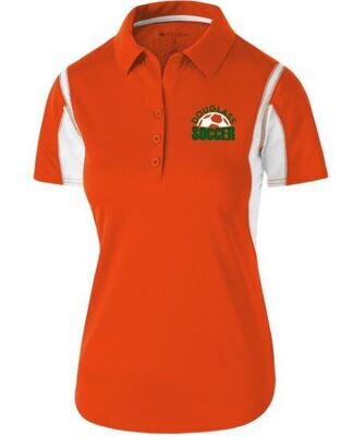 Ladies Integrate Polo with Douglass Soccer Design (FDGS)