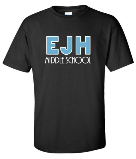 Unisex Adult EJH Middle School Short OR Long Sleeve Tee (HDT)