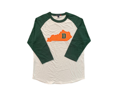 Kentucky State Applique with D Baseball Style Tee (FDDT)
