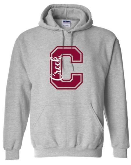 C Creek Unisex Hoodie - YOUTH and ADULT (TCDT)