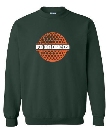 FD Broncos Golf Ball Crewneck Sweatshirt (FDG)