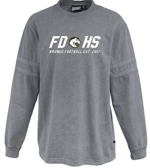 Unisex FDHS Bronco Sandwash Jersey (FDF)