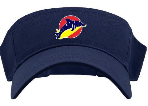Visor with Dolphins Logo (LEXD)