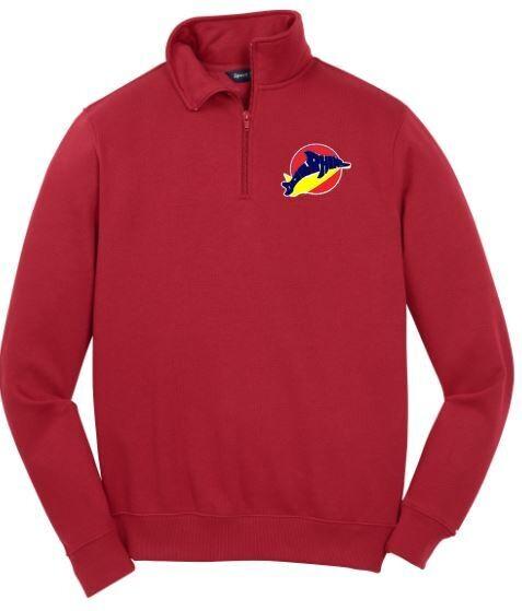 Unisex Sport-Tek 1/4 Zip Sweatshirt with Embroidered Logo (LEXD)