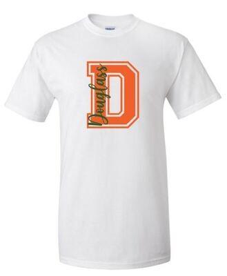 D Douglass Short OR Long Sleeve Tee (FDDT)