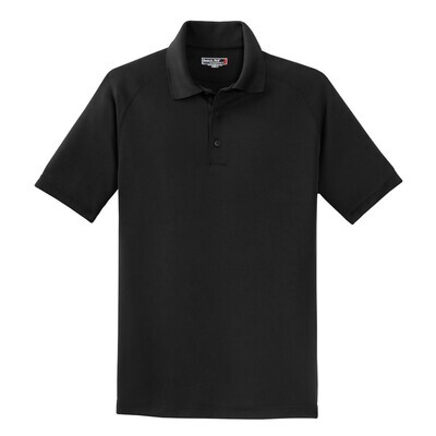 Unisex Sport-Tek® Dry Zone® Raglan Polo with your choice of Douglass Logo (FDDT)
