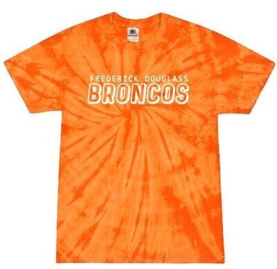 Frederick Douglass Broncos Tie-Dye Short Sleeve Tee (FDDT)