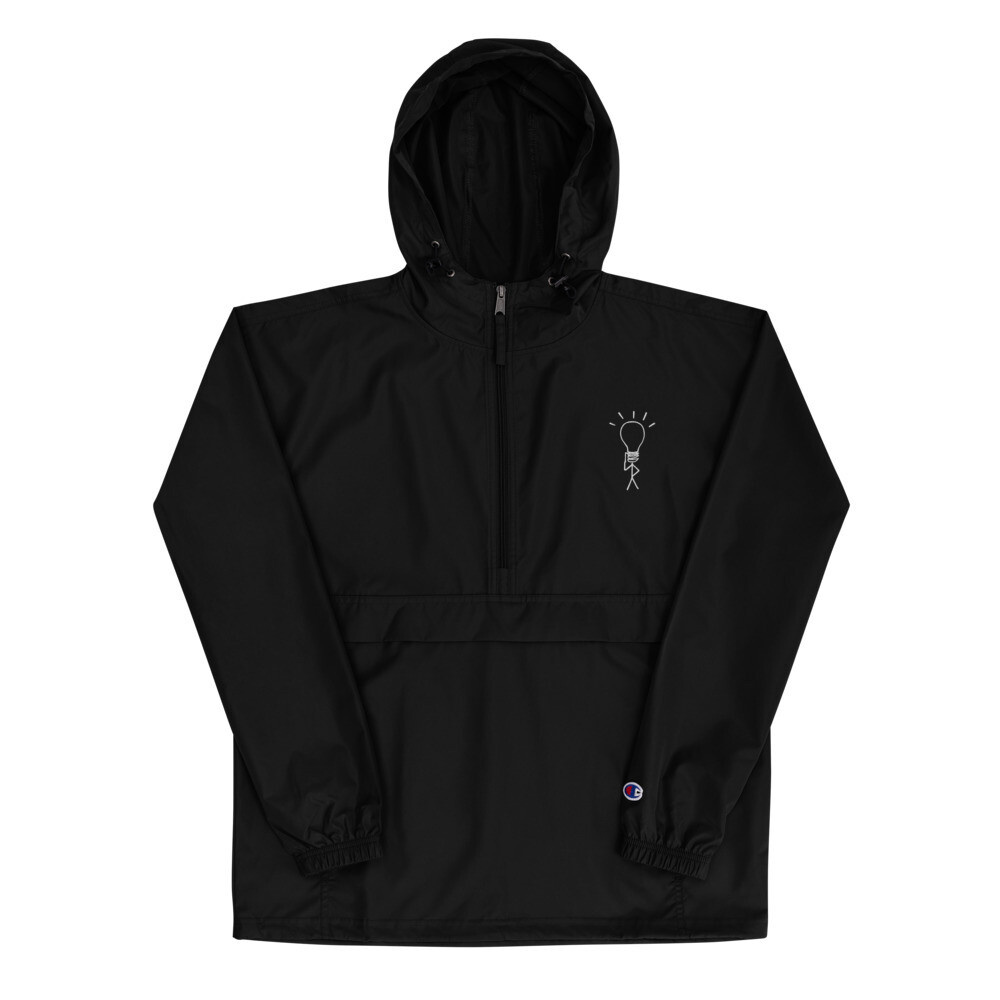 NEL Embroidered Champion Packable Jacket