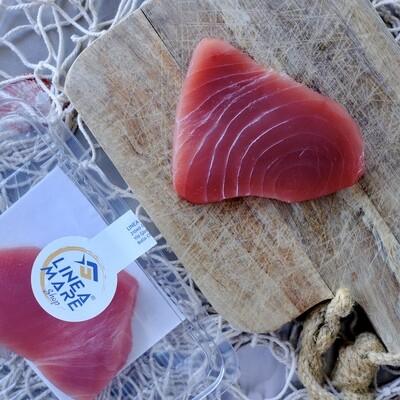 Filetto di tonno pinna gialla dec. - Porzione da 180/200 gr.