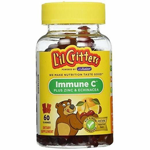 L'il Critters Gummies Immune C Plus Zinc & Echinacea  (Pack of 2)