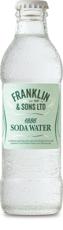 Franklin & Sons 1886 Soda Water (200ML x 12)