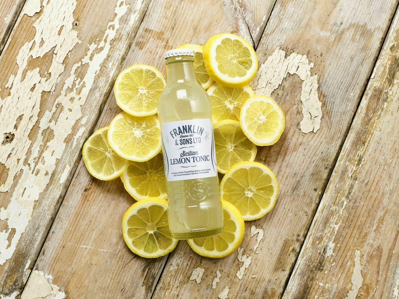 Franklin & Sons Sicilian Lemon Tonic (Pack of 4)