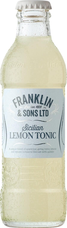 Franklin & Sons Sicilian Lemon Tonic (200ml x 4)