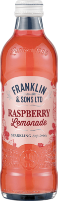 Franklin & Sons Raspberry and Lemonade (275ml x 12)