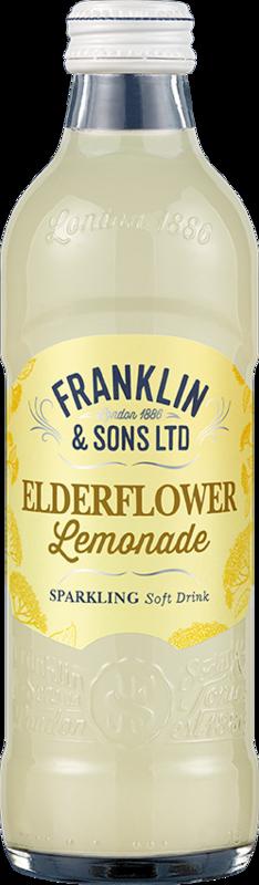 Franklin & Sons Lemonade and Elderflower (275ml x 12)