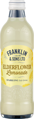 Franklin & Sons Lemonade and Elderflower (275ml x 12)