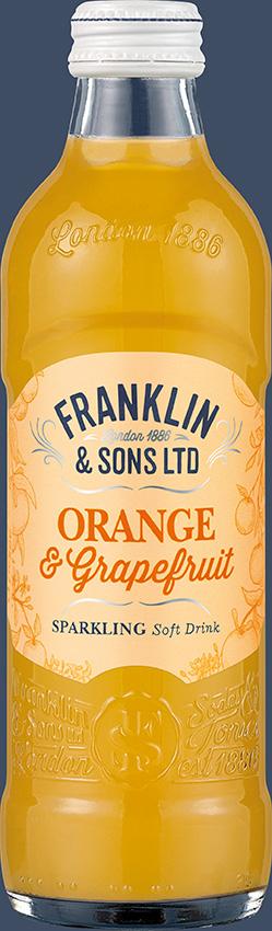 Franklin & Sons Orange & Pink Grapefruit with Lemongrass