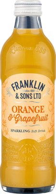Franklin & Sons Orange & Pink Grapefruit with Lemongrass