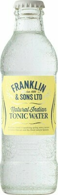 Franklin & Sons Natural Indian Tonic Water (Pack of 2)