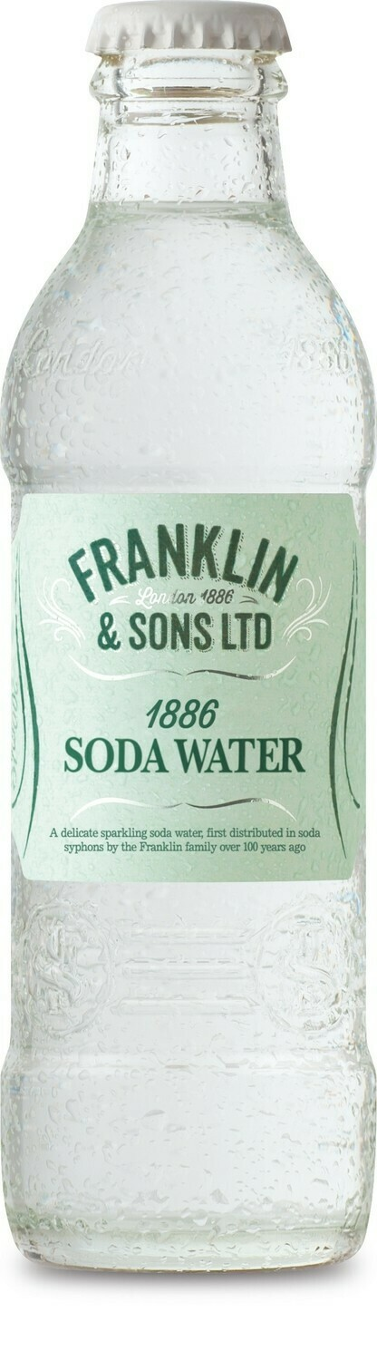 Franklin & Sons 1886 Soda Water (pack of 2)